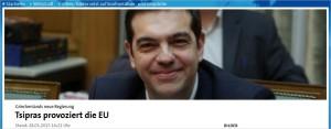 Tsipras provoziert die EU