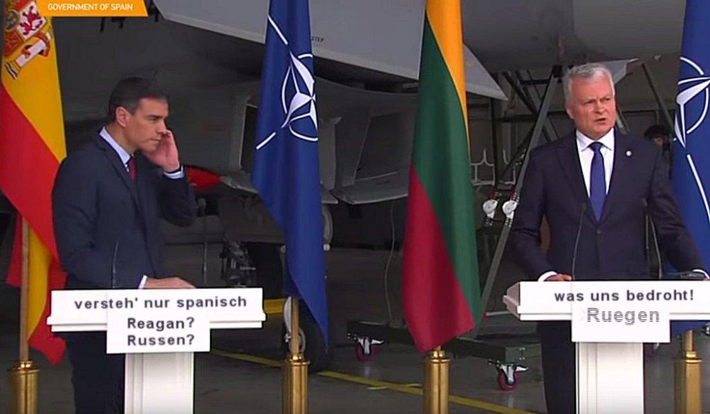 NATO-Sprudel, fade & abgestanden … Show!